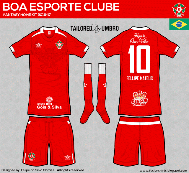 Designer cria camisas dos clubes da Série C inspiradas na Umbro - Grupo B e7cee371eb332
