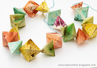 Layers of ink - Geometric Banner Tutorial by Anna-Karin Evaldsson