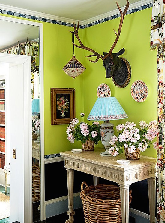 Benjamin Moore Chic Lime
