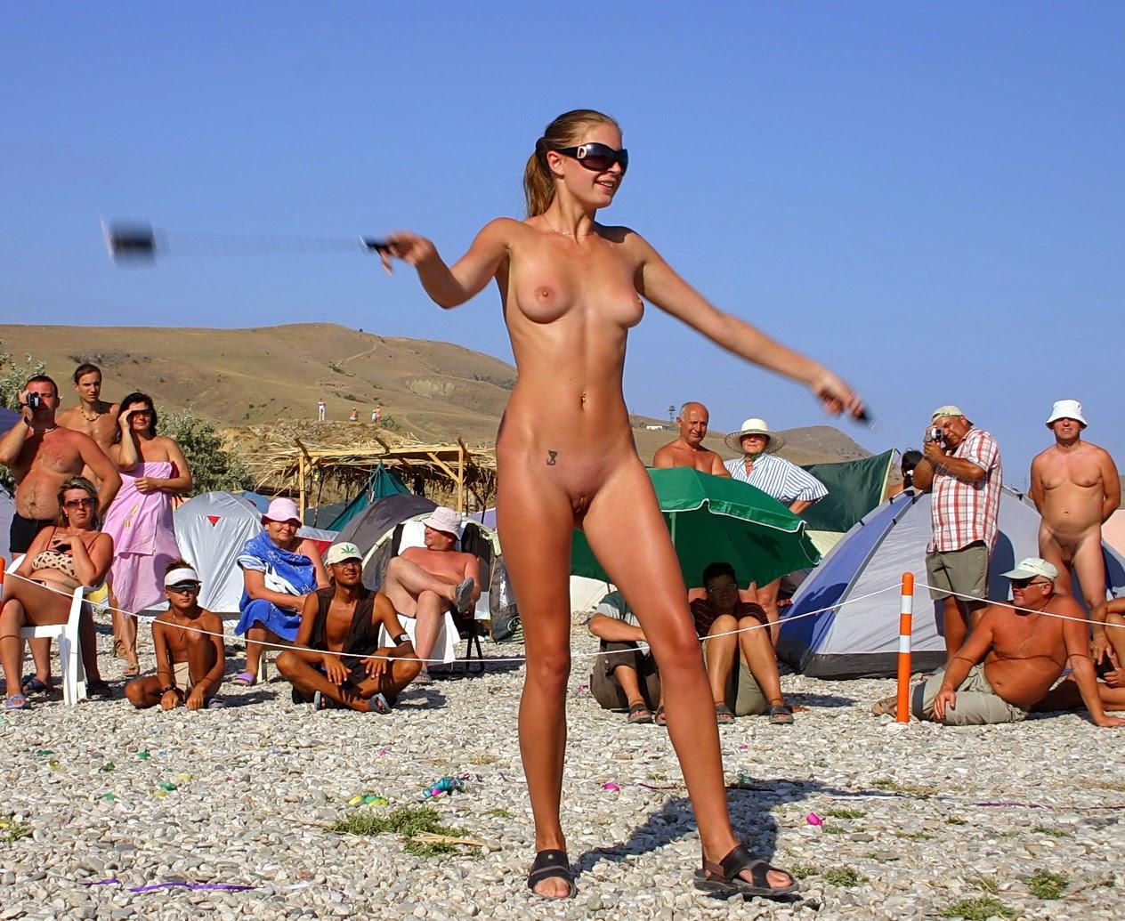 Selfie sexy black nude