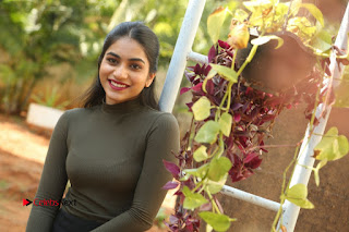 Tollywood Actress Punarnavi Bhupalam Latest Po Gallery in Black Trouser Pant at Pittagoda Movie Interview  0208.JPG