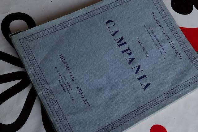 Campania, Touring Club Italiano - Milano 1936 - anno xiv