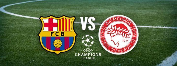 نتيجة مباراة برشلونة وأوليمبياكوس 3/1 الأربعاء 18 أكتوبر في بطولة دوري أبطال أوروبا