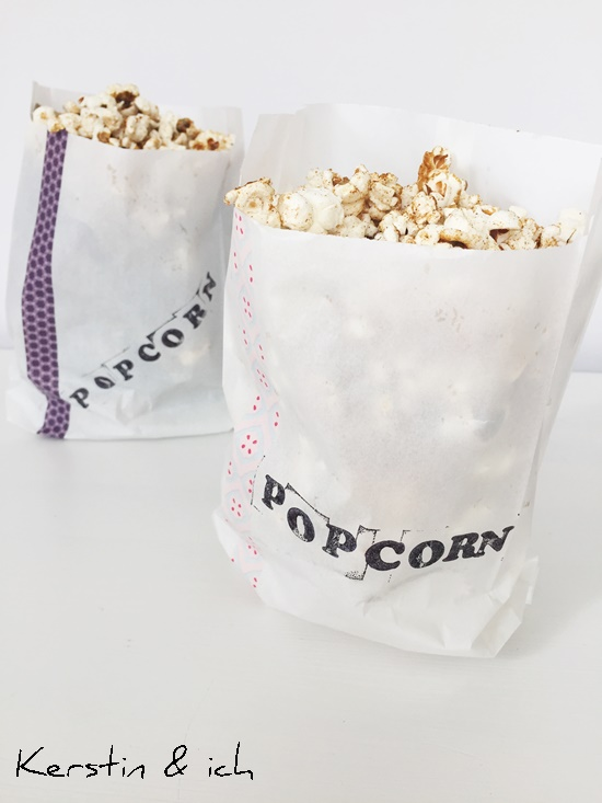 DIY Rezepte herzhaft Ppcorn