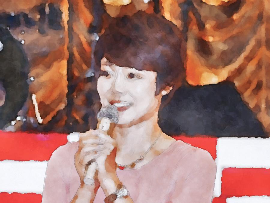 水彩画の有働由美子