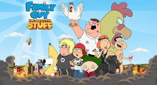 Download Family Guy The Quest for Stuff Mod Apk Game