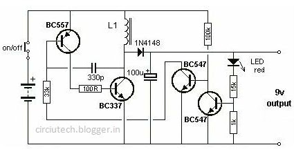 Electronics Circuit & Computer Zone: 1.5 Volt to 9 Volt