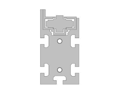 3D Model | Bosch Rexroth | Chain Conveyor Section