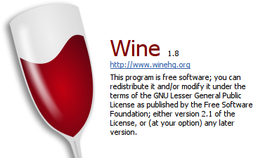Wine 1.8 is now in Wine Team PPA. Install it now!