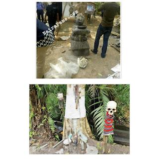 Police uncover ritualists' shrine in Odo-Ekiti