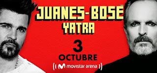Concierto de Juanes - Miguel Bose - Sebastian Yatra