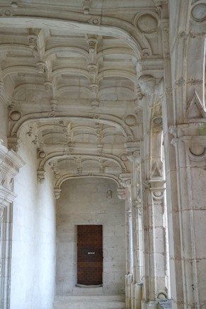 charente château la rochefoucauld galerie aile sud