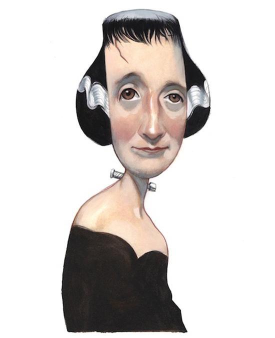 Frankensteinia: The Frankenstein Blog: Mary Shelley, by Fernando Vicente