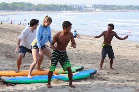 All About Bali Learn to surf in Kuta Bali for beginners