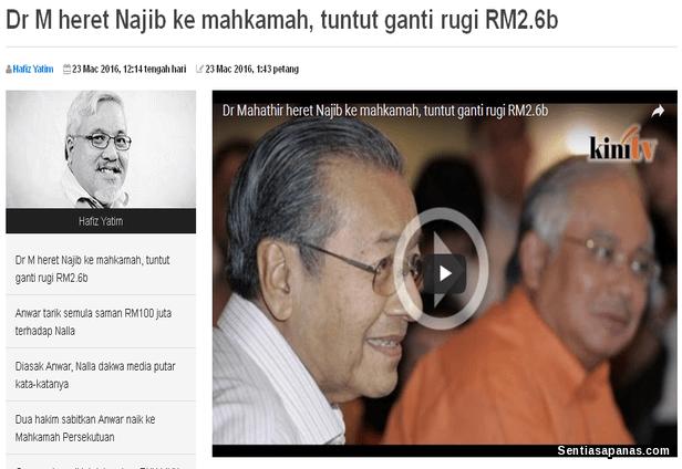Mahathir+vs+Najib