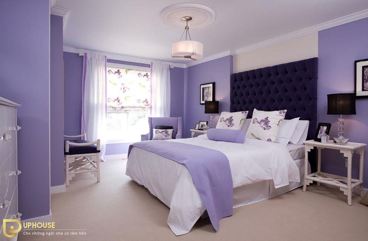 Màu sơn phòng ngủ mệnh Hỏa 08