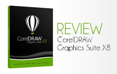 Review - CorelDRAW Graphics Suite X8