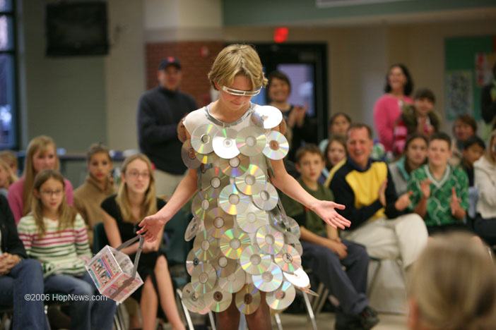How To Recycle Trash Fashion Show