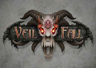 Veil Fall logo (AlMaNeGrA)