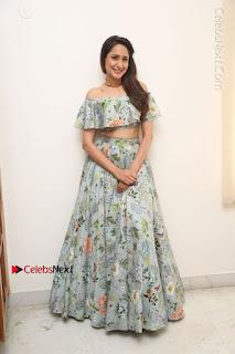 Actress Pragya Jaiswal Stills in Floral Dress at turodu Interview  0191.JPG