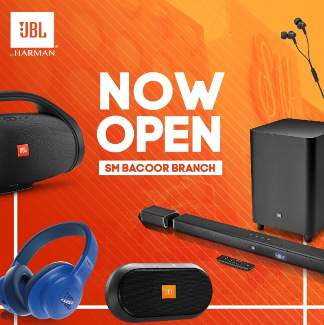 JBL Opens New Store at SM Bacoor; Offers Up To 50% Discount
