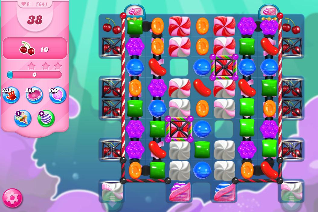 Candy Crush Saga level 7641