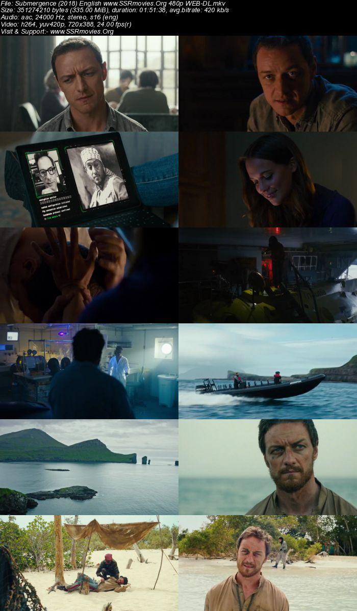 Submergence (2018) English 480p WEB-DL