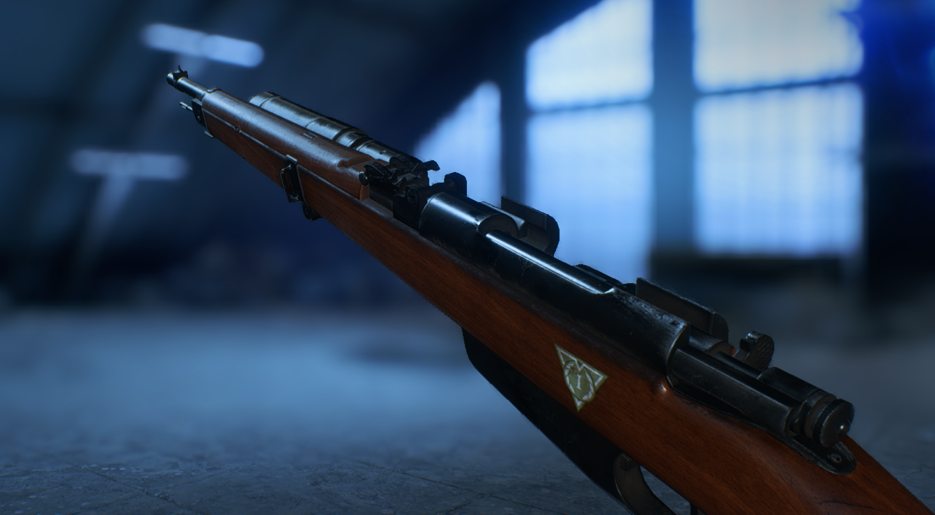 Nova Carabina Bolt-Action M91/28 - Battlefield V