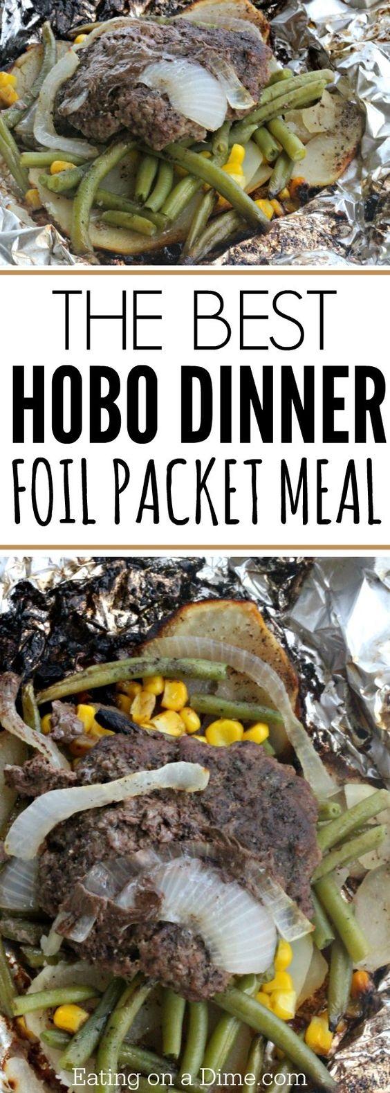 The Best Hobo Dinner Foil Packet Meal