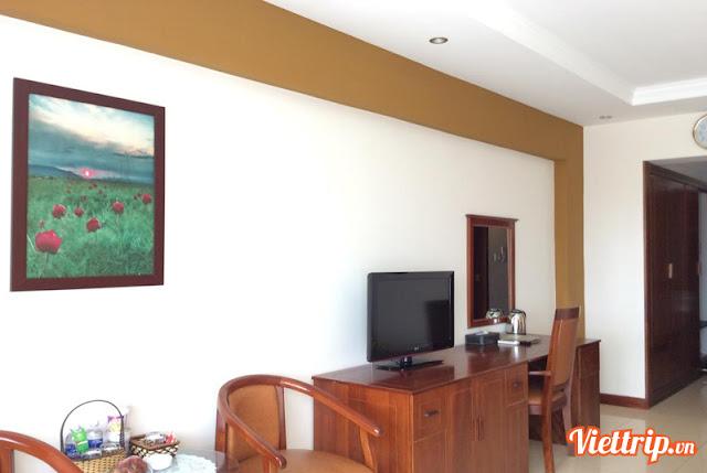 Phòng nghỉ đầy đủ tiện nghi - intourco Vũng Tàu