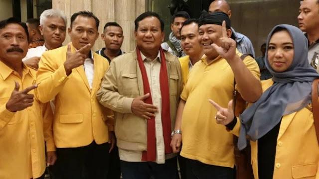 DPD Golkar Wonosobo Deklarasi Dukungan ke Prabowo