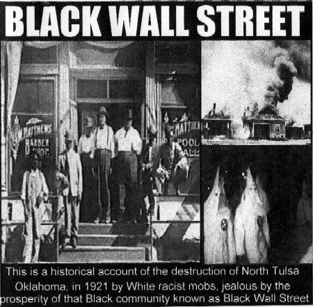 Black wall street tulsa oklahoma the same