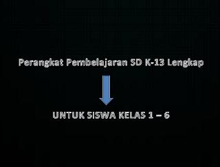 Perangkat Pembelajaran SDMI K-13 Lengkap
