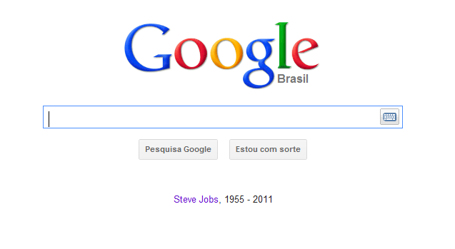 Homenagem do Google.