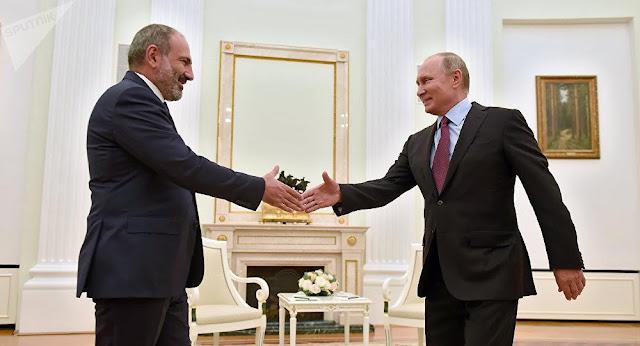 Pashinyan y Putin discutieron cooperación de Armenia y Rusia