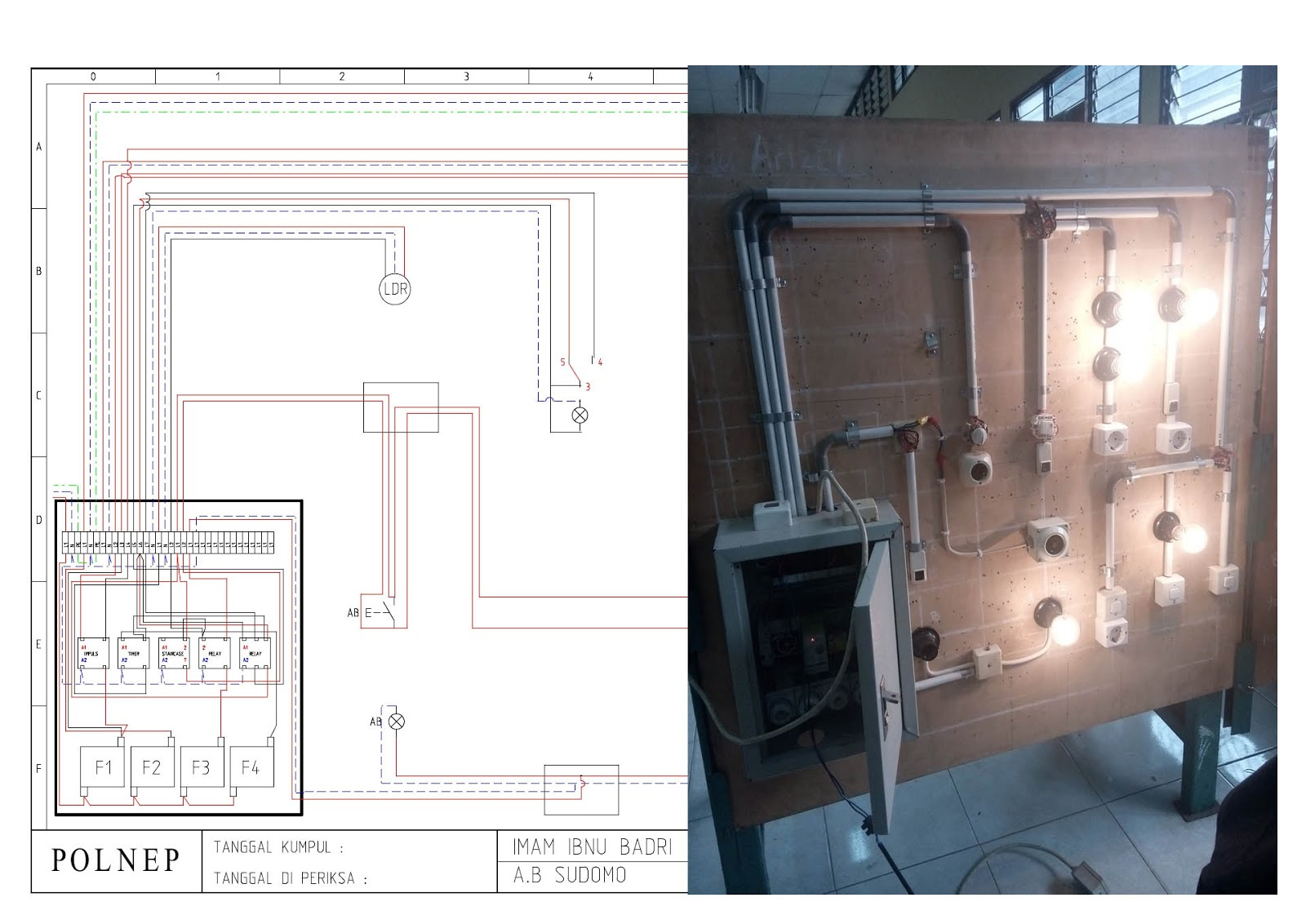 Instalasi Rumah Tinggal Proyek A.B Sudomo (Bengkel)