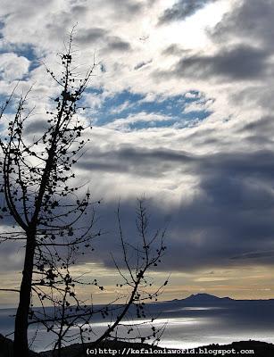 Winter sky, Kefalonia