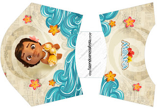 Moana Baby Free Printable Fries Box.
