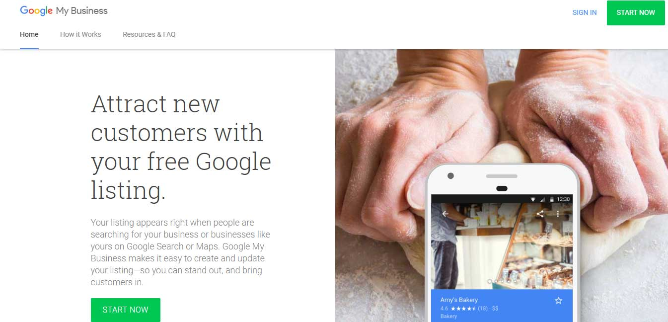 google free services features for beauty salon business