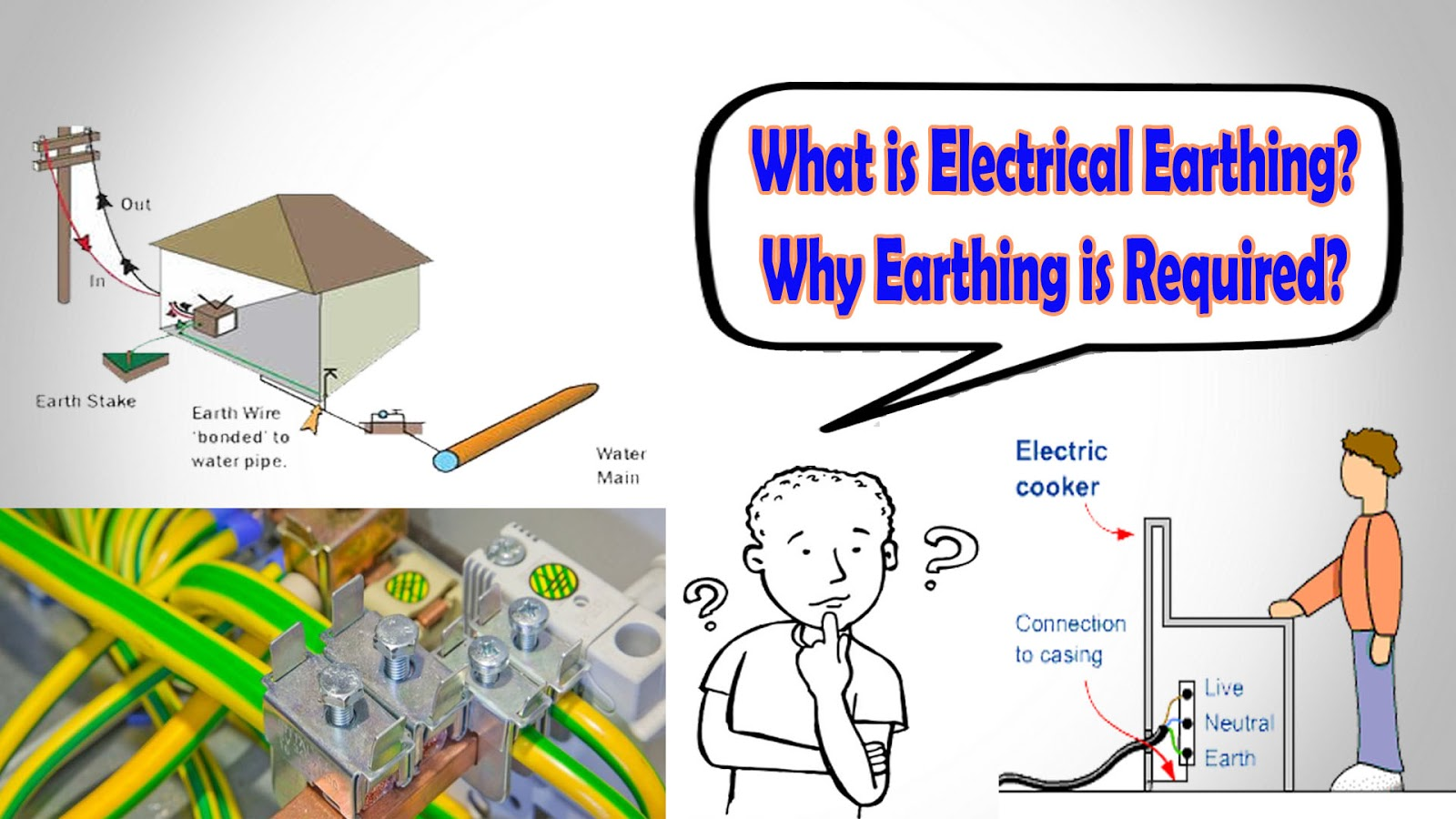 Electrical Earthing - Why Earthing is Required?