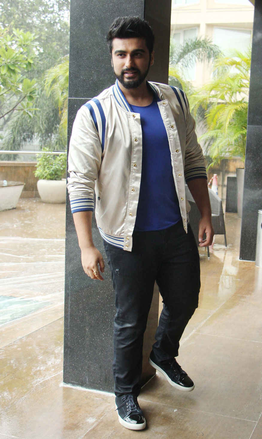 Arjun Kapoor and Athiya Shetty at Novotel Hotel In Mumbai