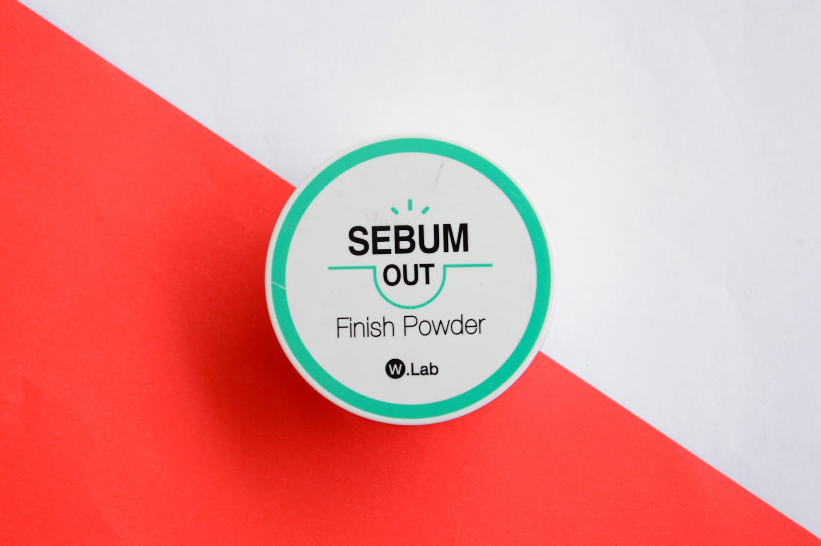 W.Lab Sebum Out Finish Powder Review