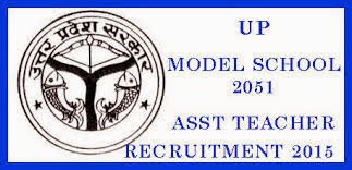 Uttar Pradesh Model School Teacher Recruitment2015