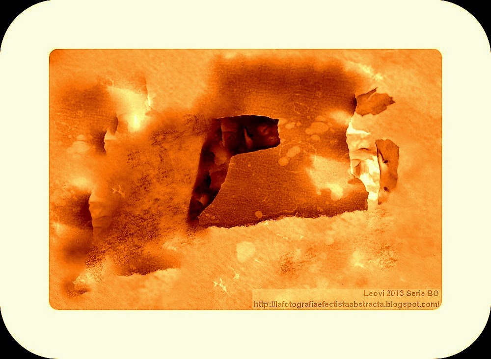 Foto Abstracta 3055  Trozos de alma a la deriva - Pieces of soul to drift