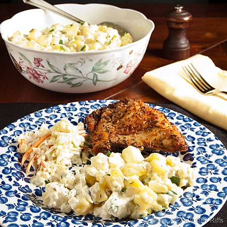American (Mayonnaise) Potato Salad
