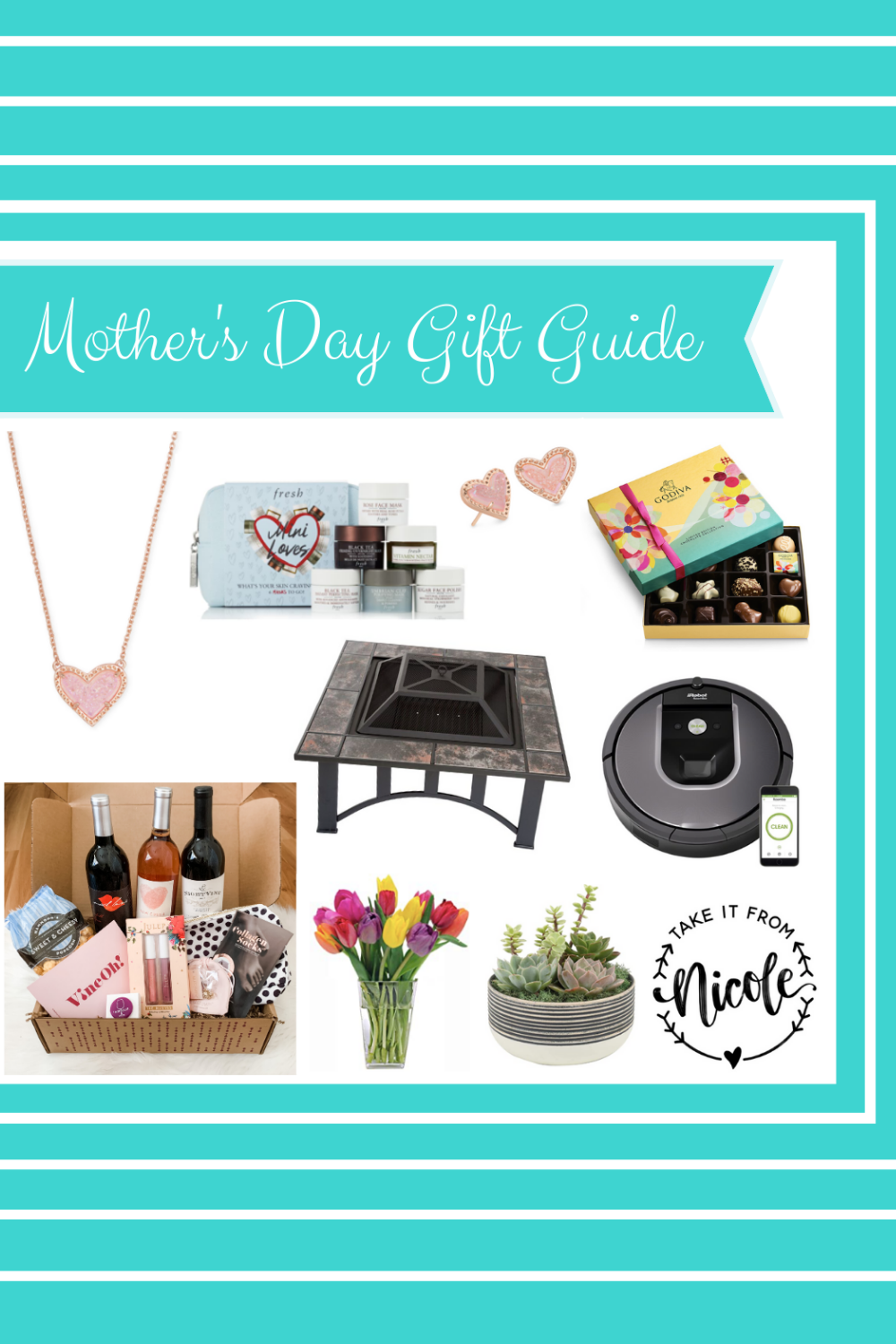 I love making gift guides but this one was a little tricky. A lot of popular activities like Mother's Day brunches just aren't an option right now. So I handpicked some favorites that will hopefully make her feel loved and special even in the midst of all this chaos.