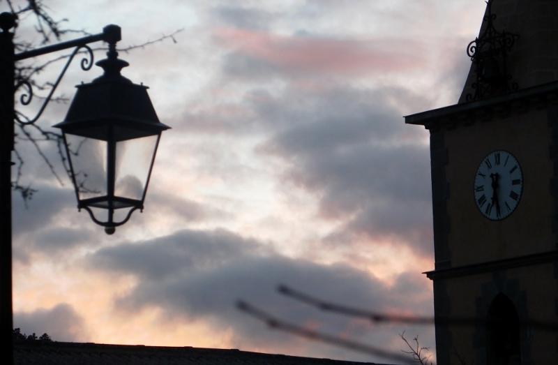 ciel d'un soir - Vergons