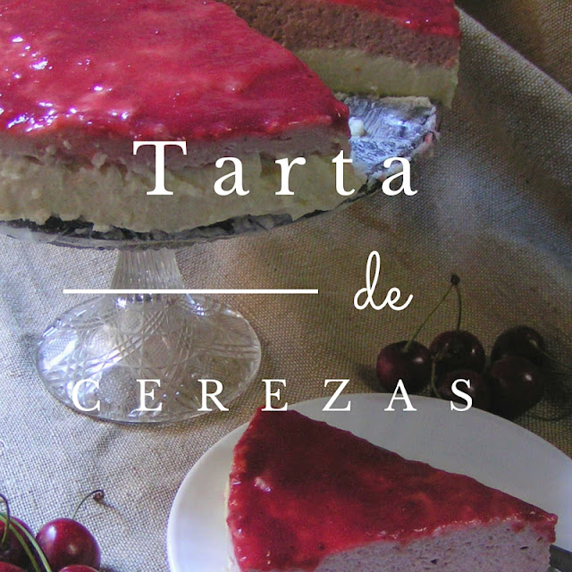 Tarta de cerezas con chocolate blanco - Morrico Fino