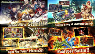 King's Raid MOD Unlimited Money Apk Android New Update Free Download