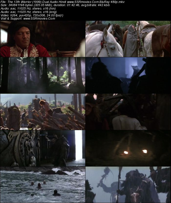 The Warriors Gate Full Movie Dual Audio: The 13th Warrior (1999) Dual Audio Hindi BluRay 480p 300MB